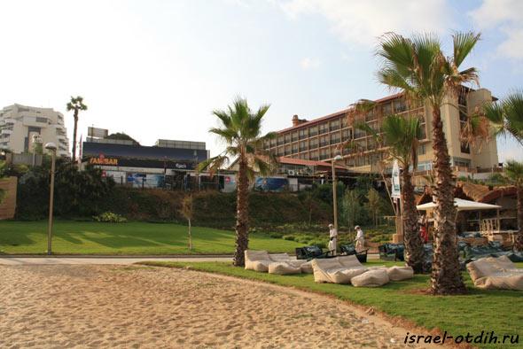 Пляж в Израиле фото