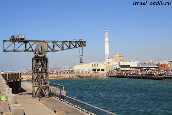 Порт Тель Авива фото