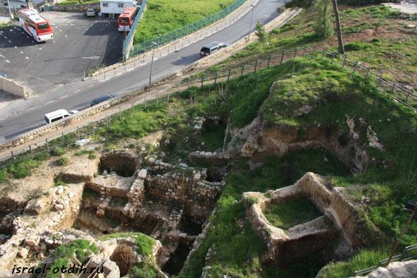 развалины в Иерусалиме