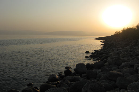 галилейское море фото