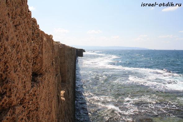 город Акко в израиле фотография